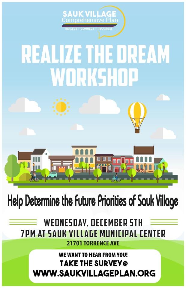 Community Workshop Flyer